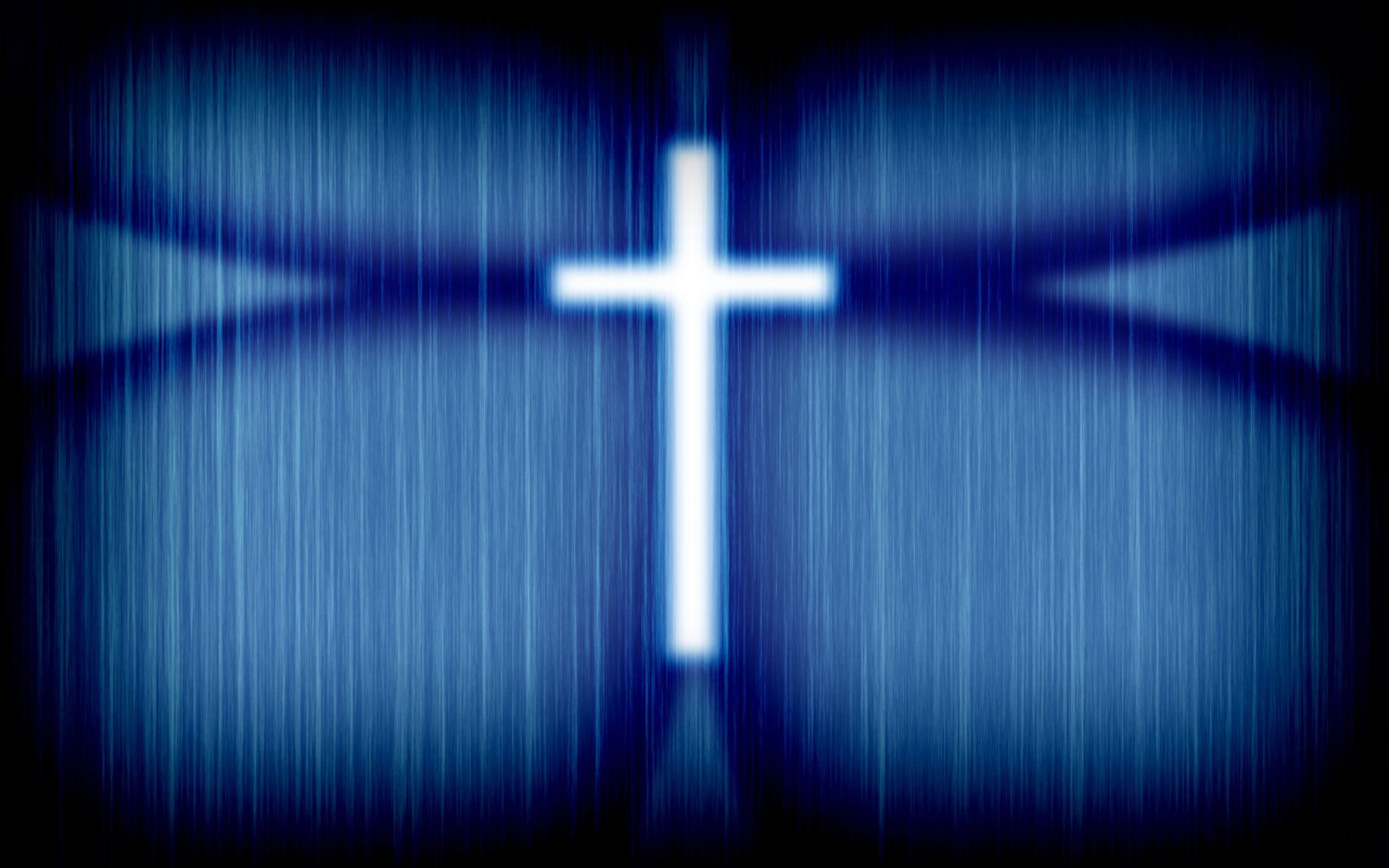 Blue Cross Wallpaper   Christian Wallpapers and Backgrounds 2560x1600
