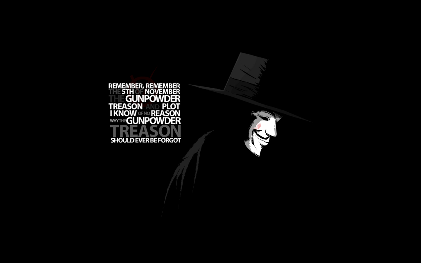 for Vendetta wallpapers V for Vendetta background   Page 3 1440x900