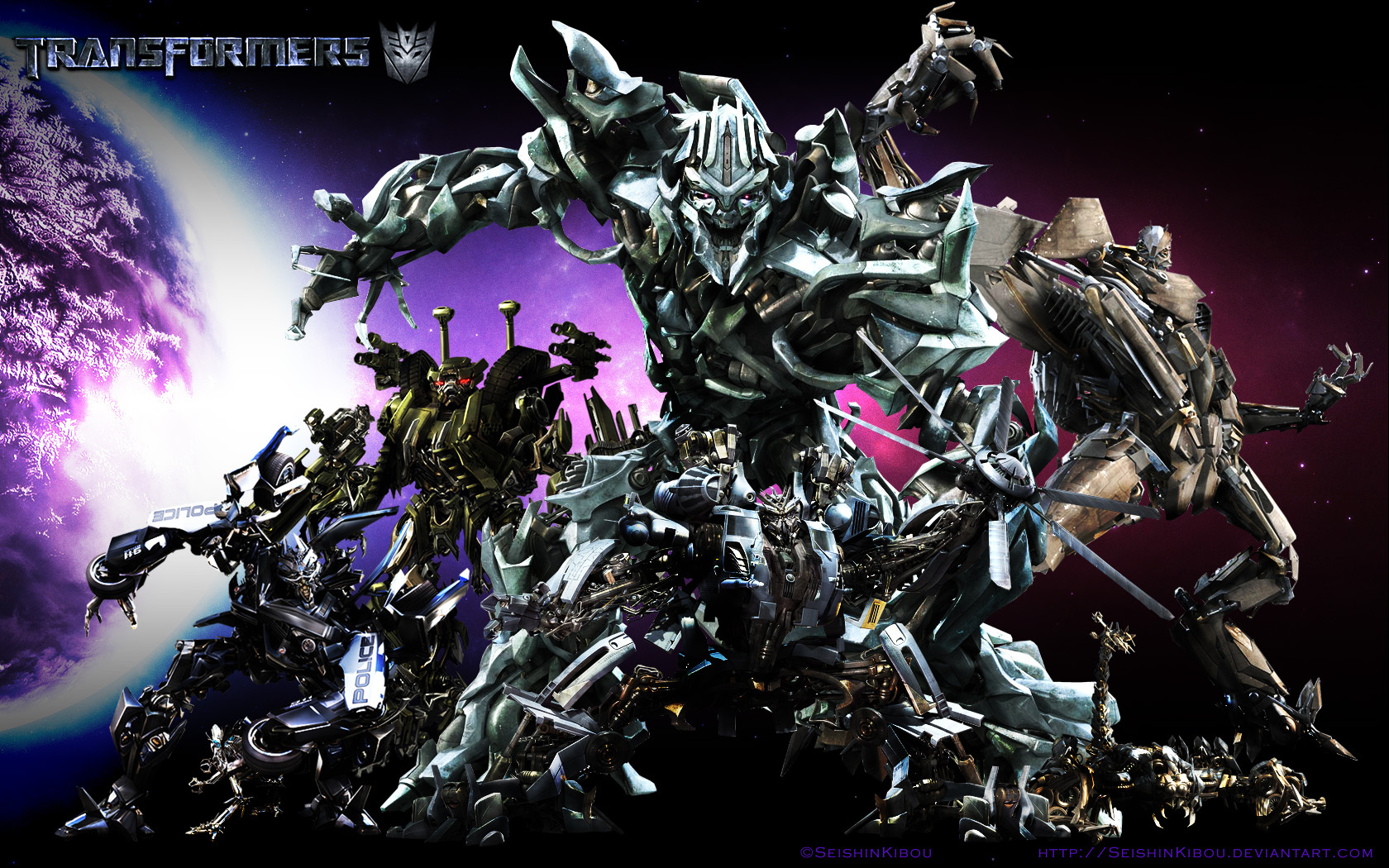 autobots decepticons transformers movie wallpaper Car Pictures 1680x1050