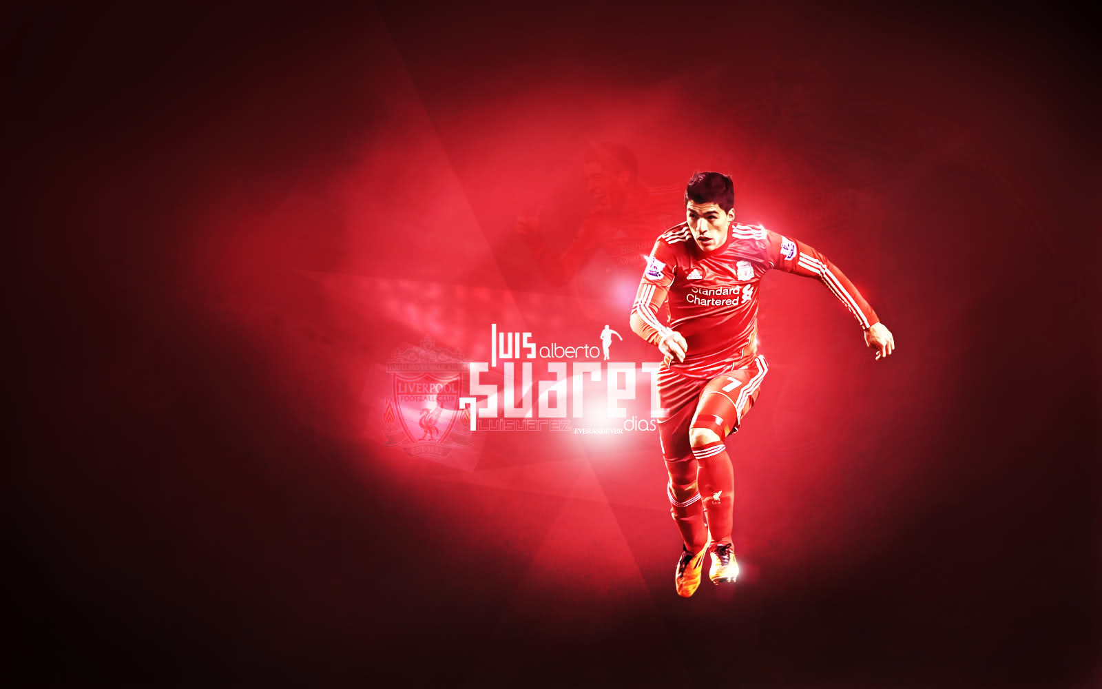 Luis Suarez Wallpapers 1600x1000