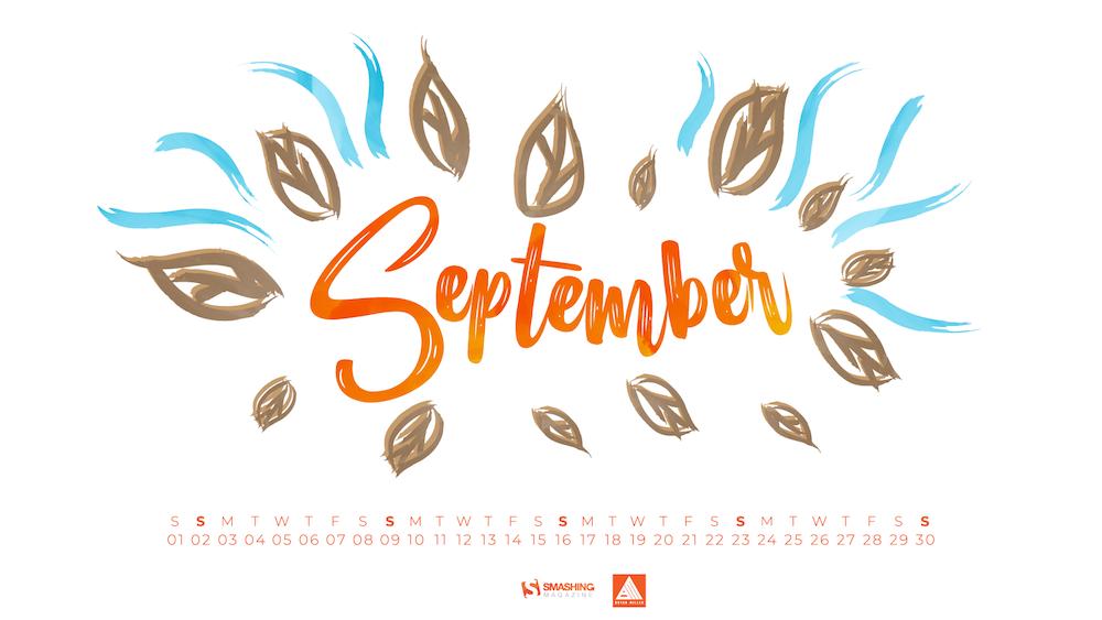 Download Smashing Magazine Desktop Wallpaper September 2018 1000x563