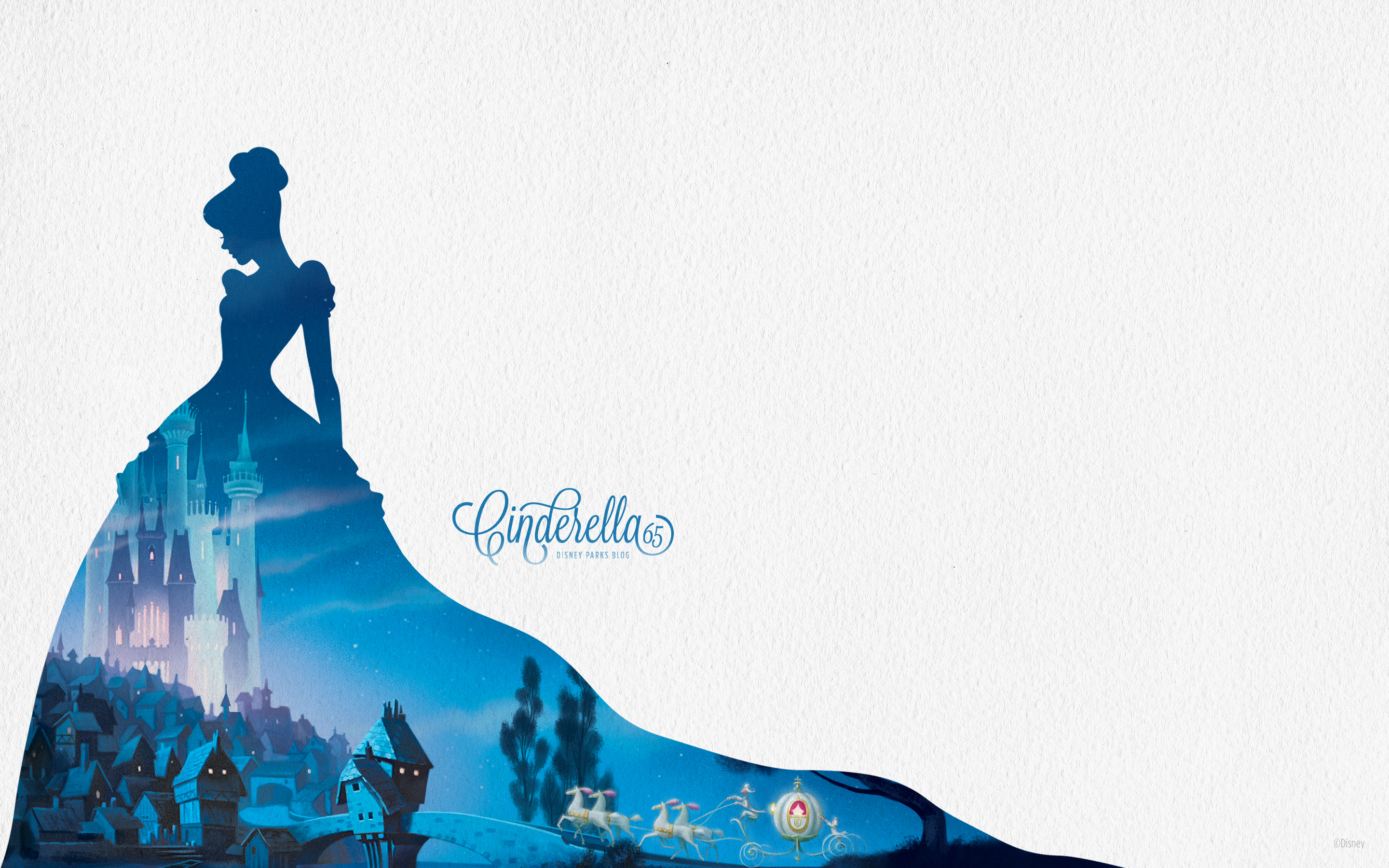 Almost Midnight Cinderella Inspired Wallpaper 2880x1800