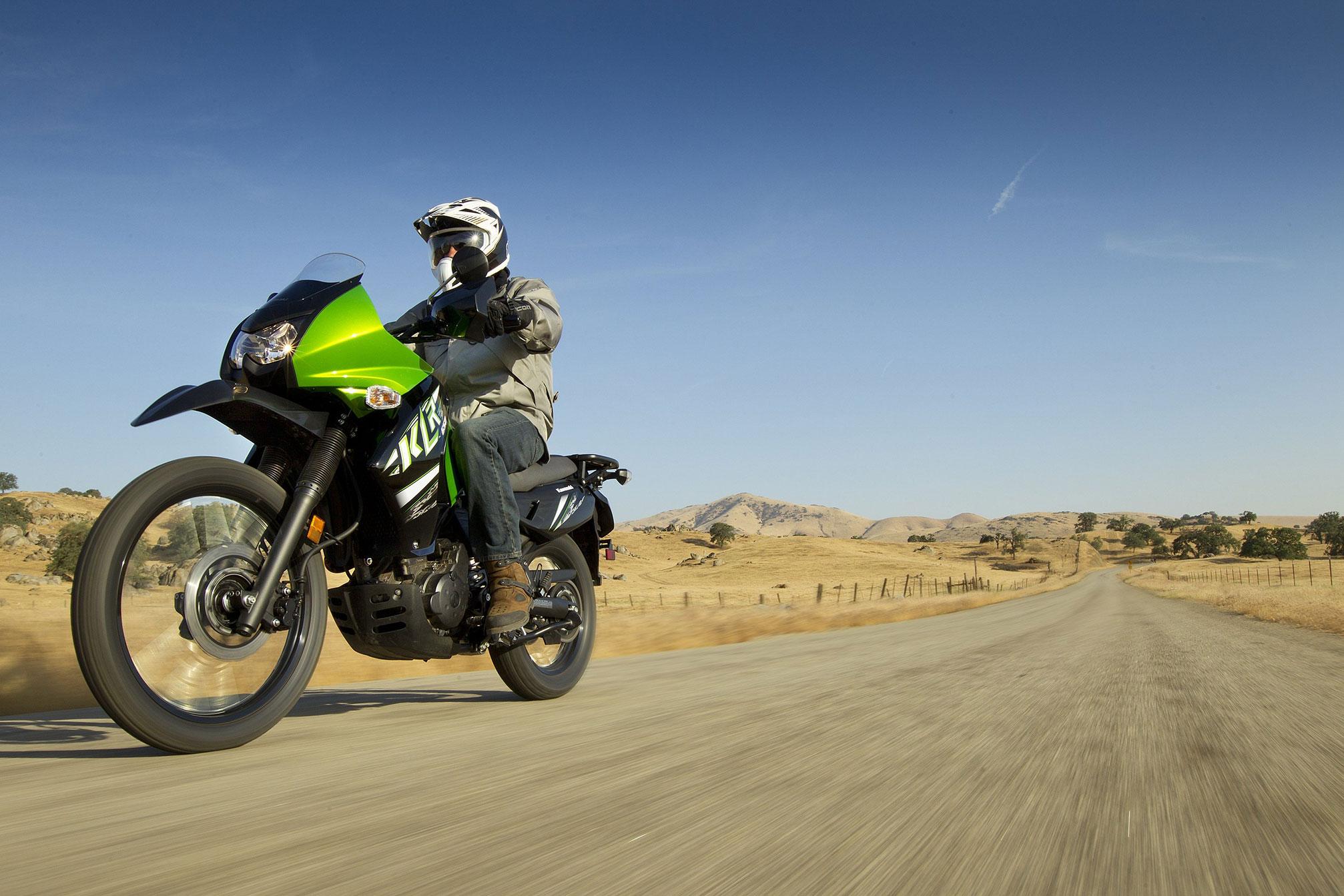 2014 Kawasaki KLR650 dual purpose dirtbike wallpaper 2014x1343 2014x1343