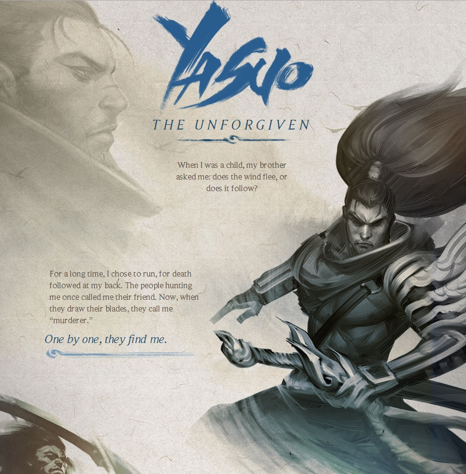 yasuo project Quotes