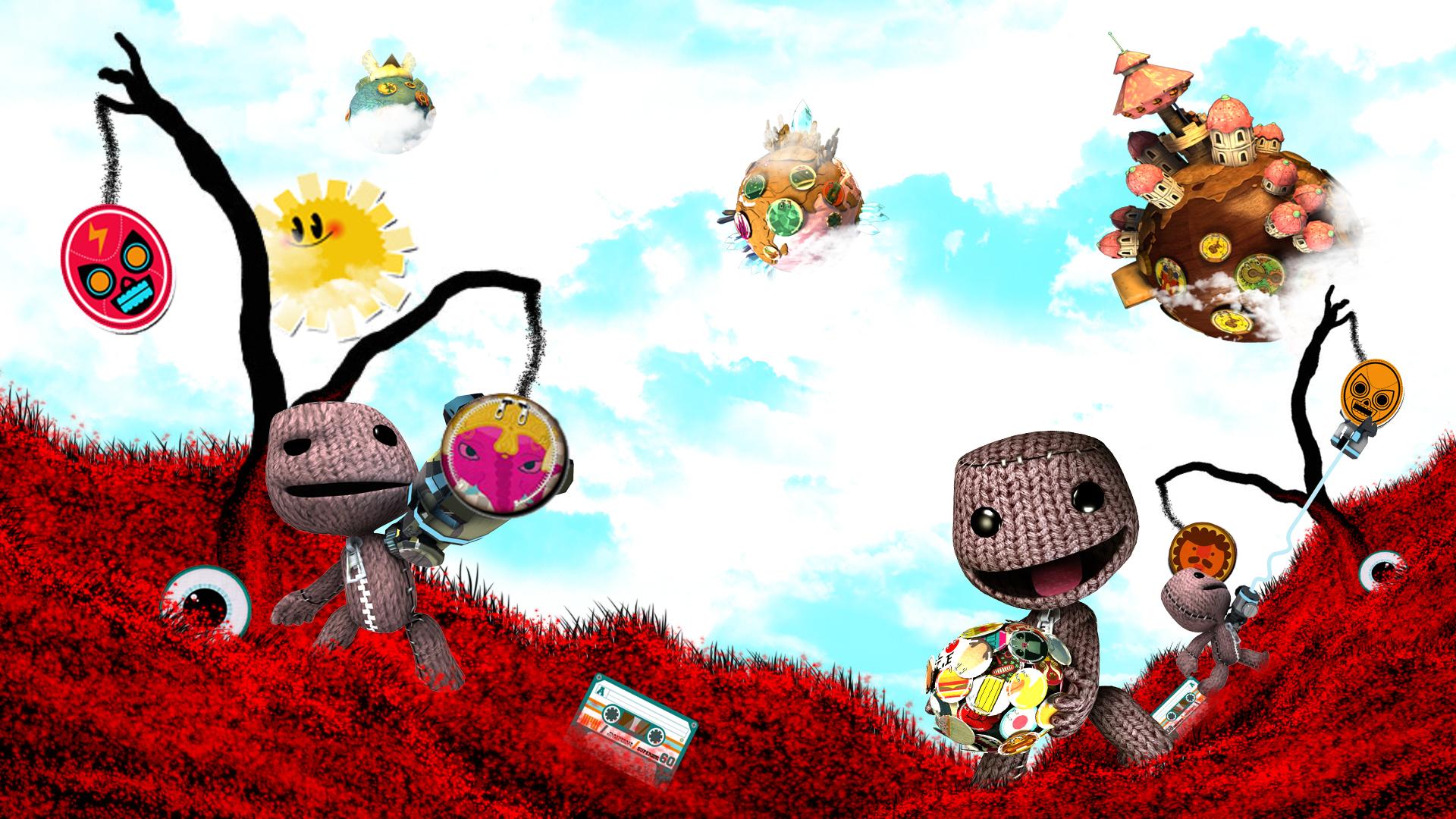 графика игры The Little Big Planet graphics game  № 1878049 загрузить