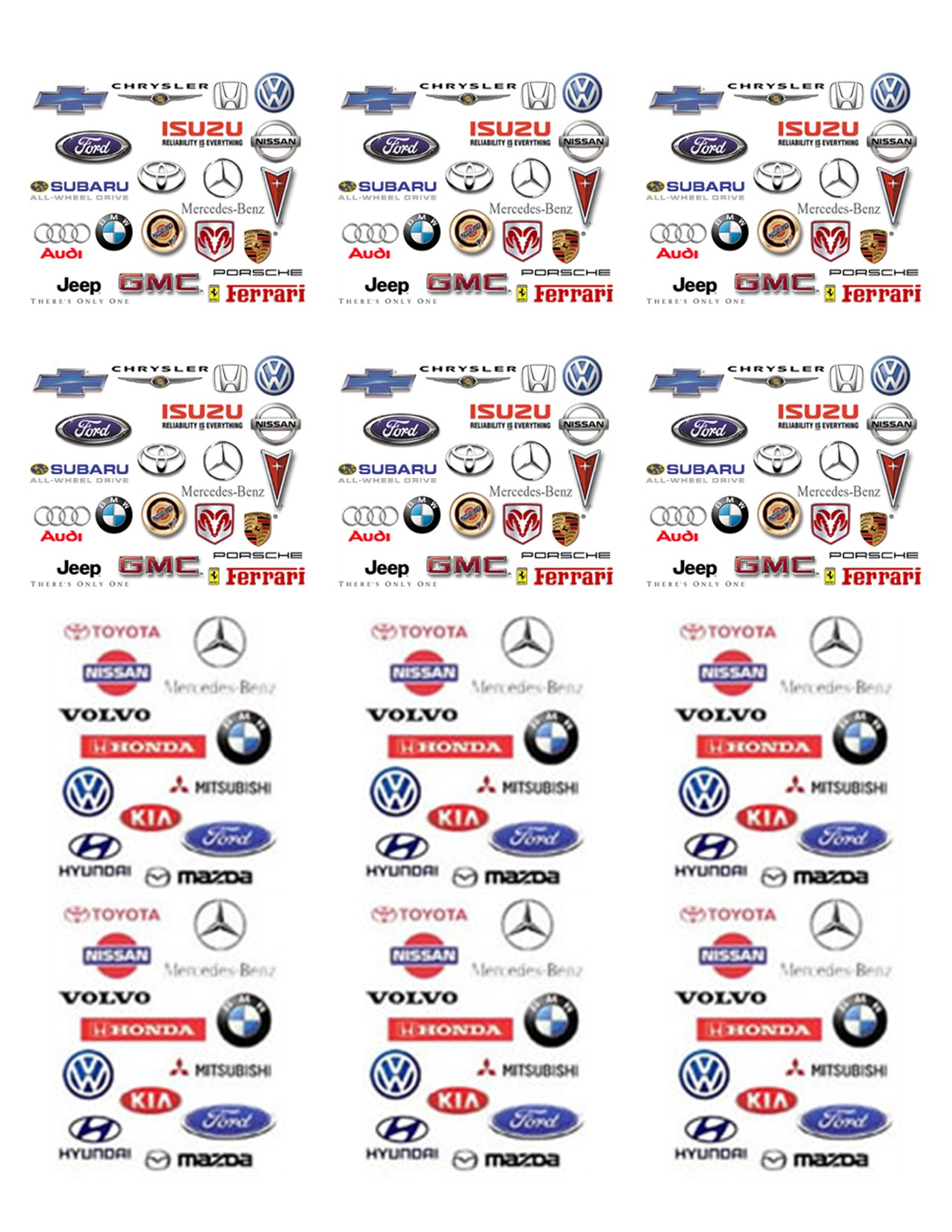 related wallpaper for gallery for brand logos and names list Car 1275x1650