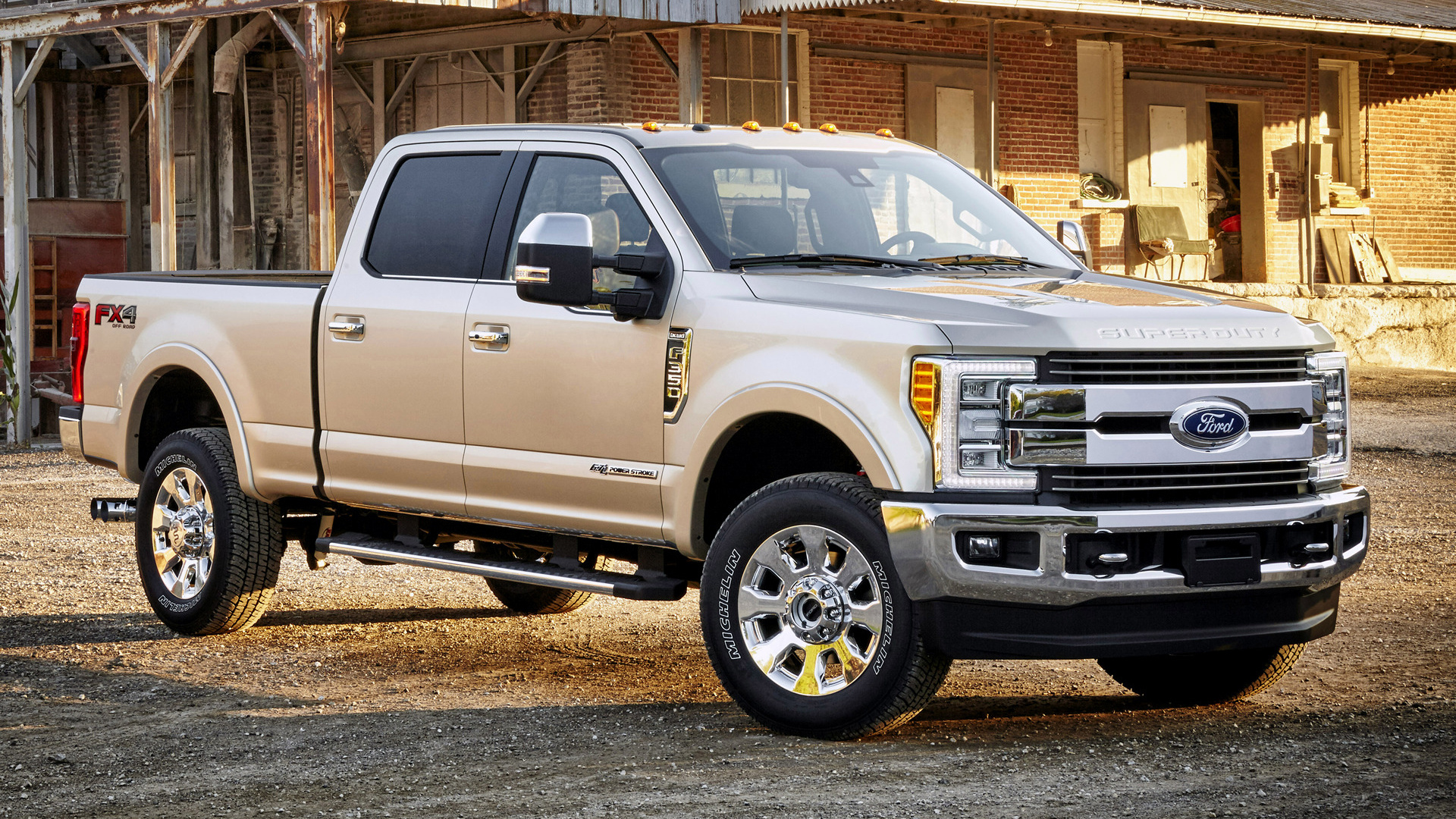 Ford F350 King Ranch FX4 Crew Cab 2017 Wallpapers and HD Images 1920x1080