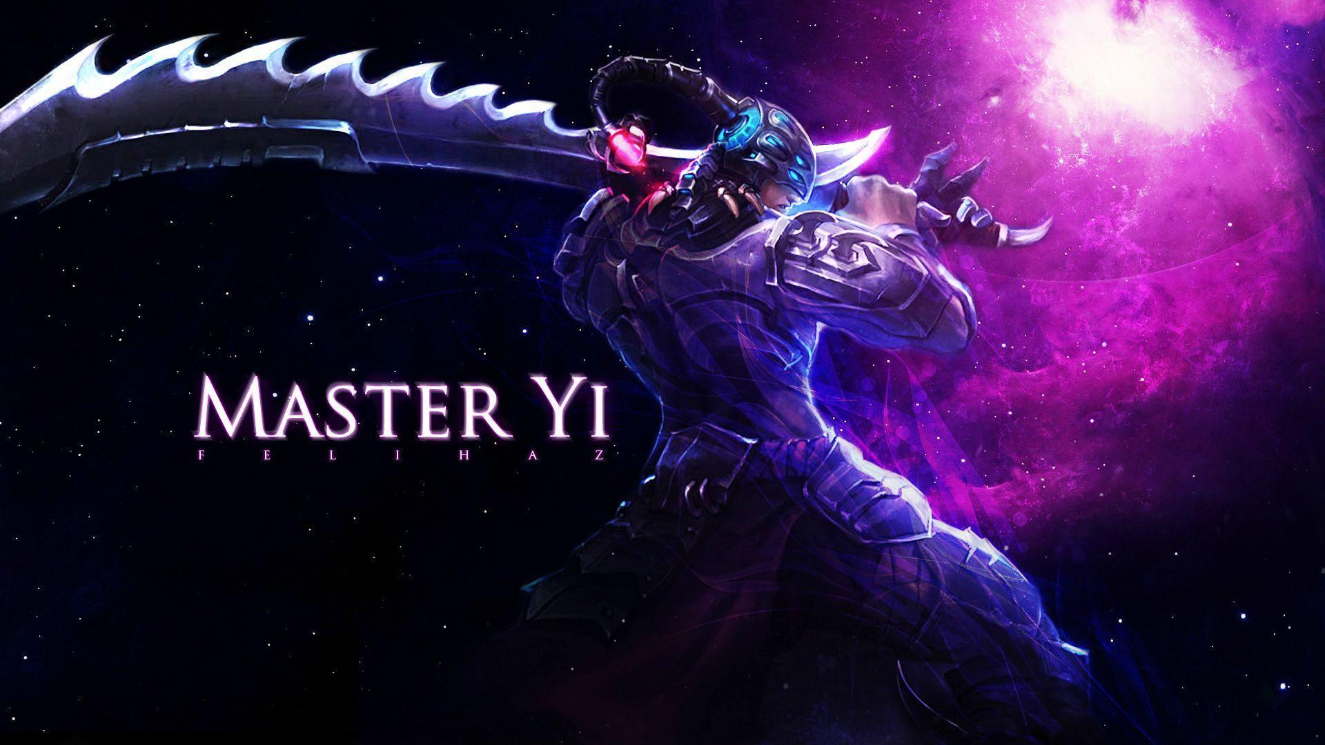 Free Download League Of Legends Master Yi Hd Desktop Hintergrund
