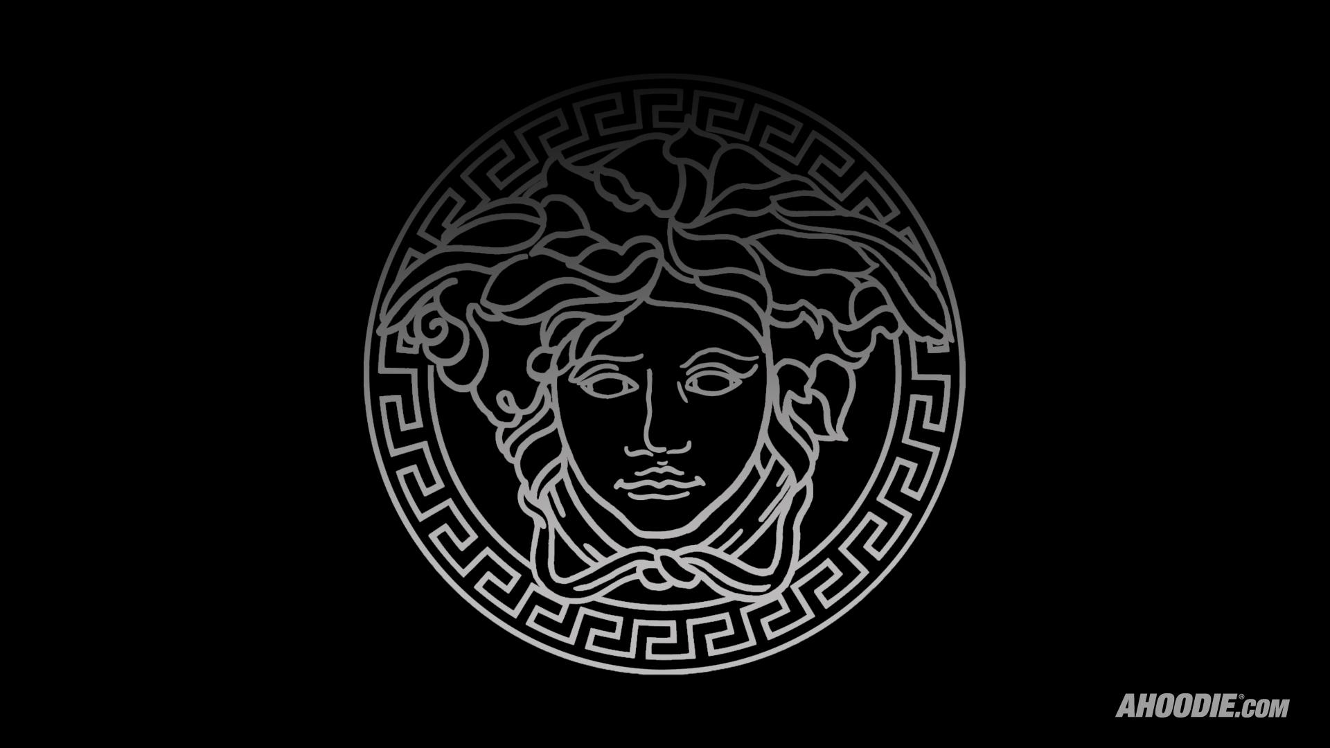 Versace iphone wallpaper wallpapersafari - Versace logo wallpaper hd ...
