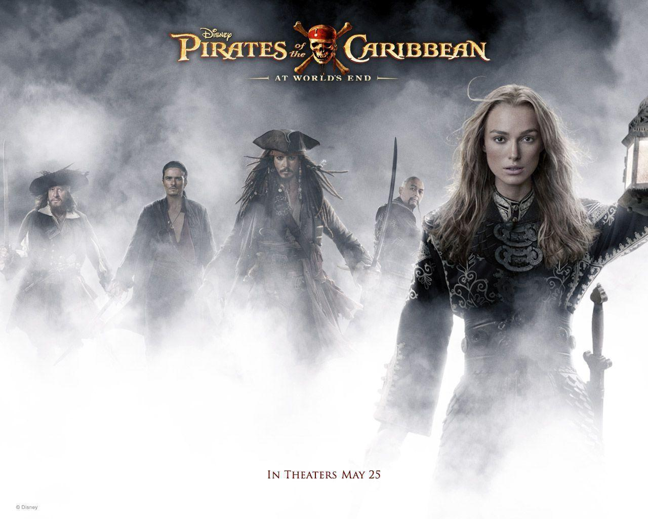 Free Download Pirates Of The Carribean Wallpapers 1280x1024 For