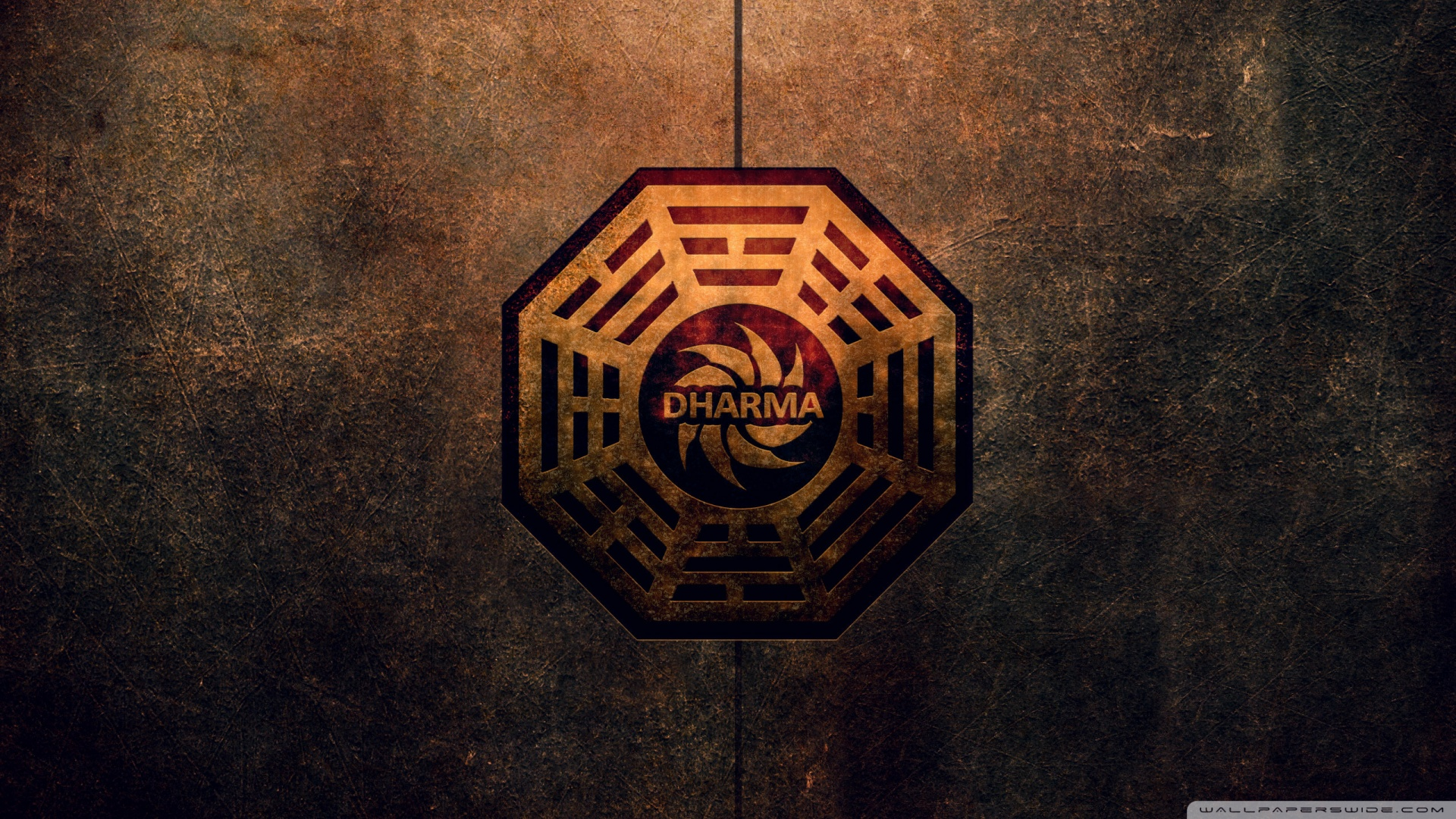 Dharma Initiative Logo 4K HD Desktop Wallpaper for 4K Ultra HD 1920x1080