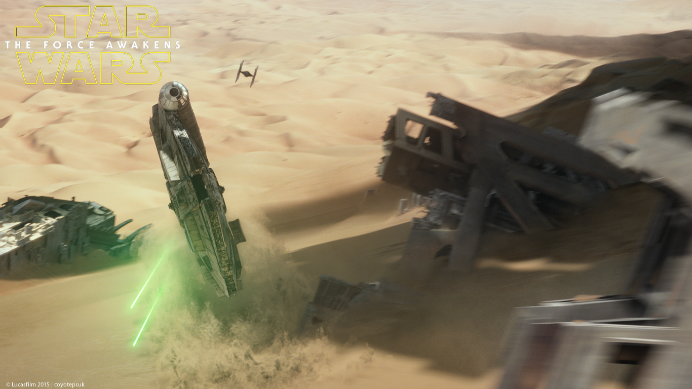 Star Wars The Force Awakens wallpaper 11 Confusions and Connections 1366x768