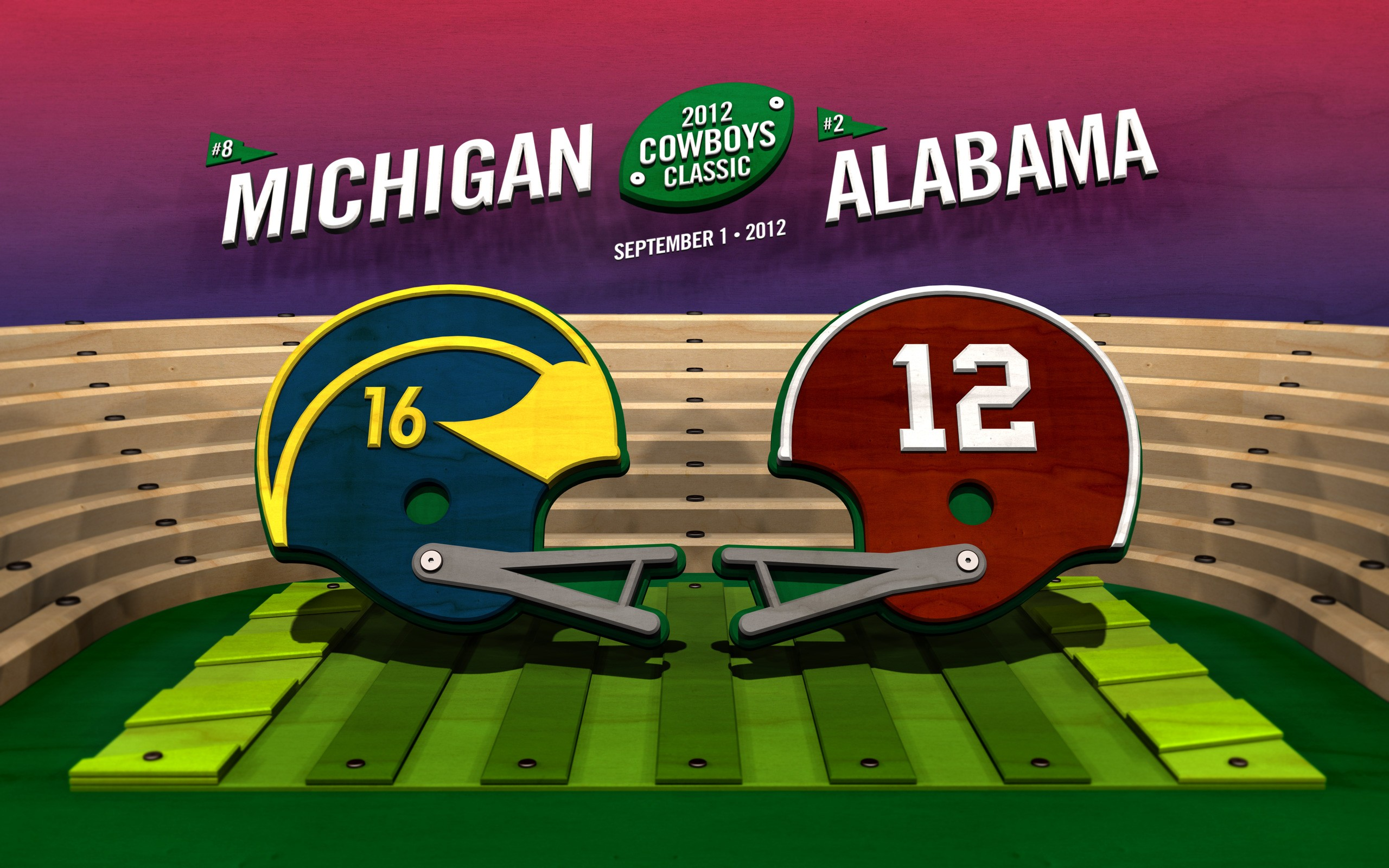 Michigan Football Wallpaper HD Alabama Widescreen Background 2560x1600