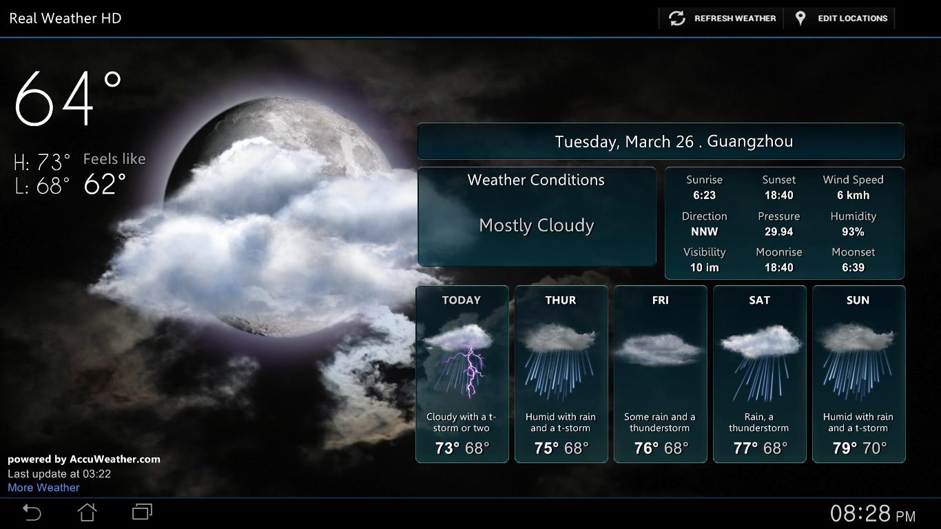 50+ Real Time Weather Wallpaper on WallpaperSafari