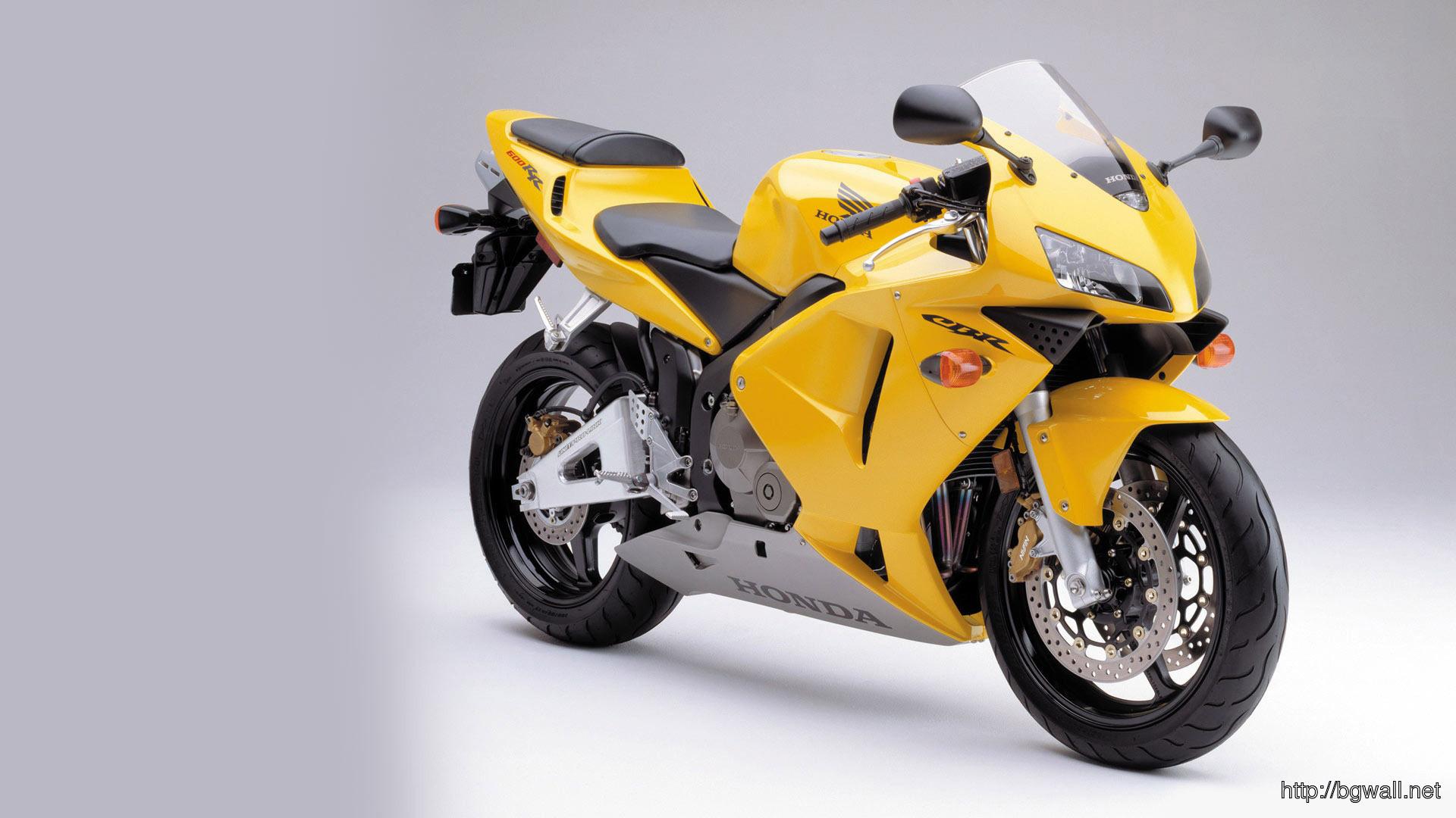 Honda Cbr 600rr Wallpaper   Yellow Colour Sports Bike 1004631 1920x1080