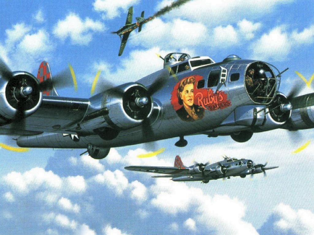 Free Download B17 Flying Fortress Wallpapers 1024 X 768 Pictures