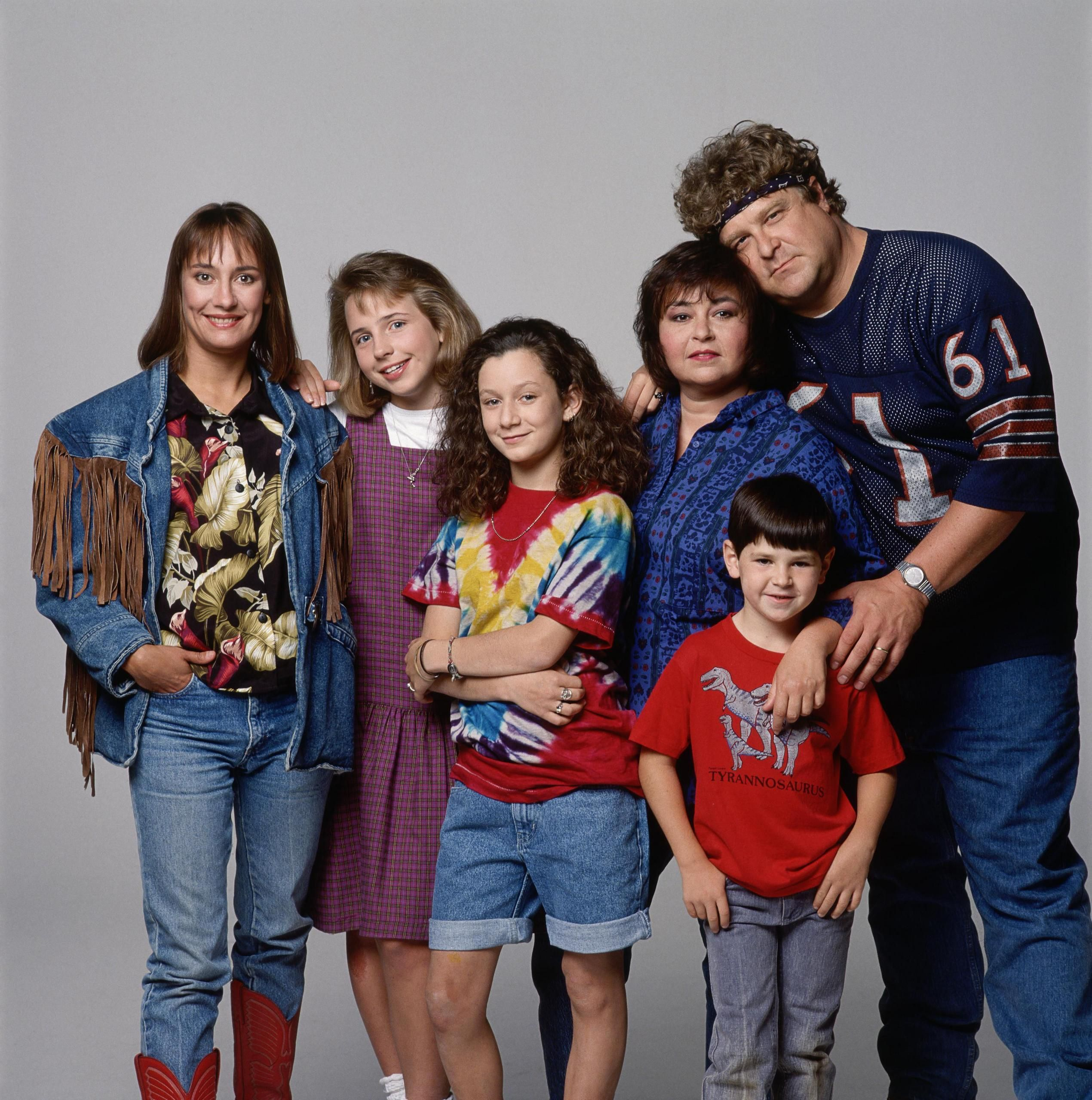 Roseanne with the original Becky When I was a kid Tv 2540x2560