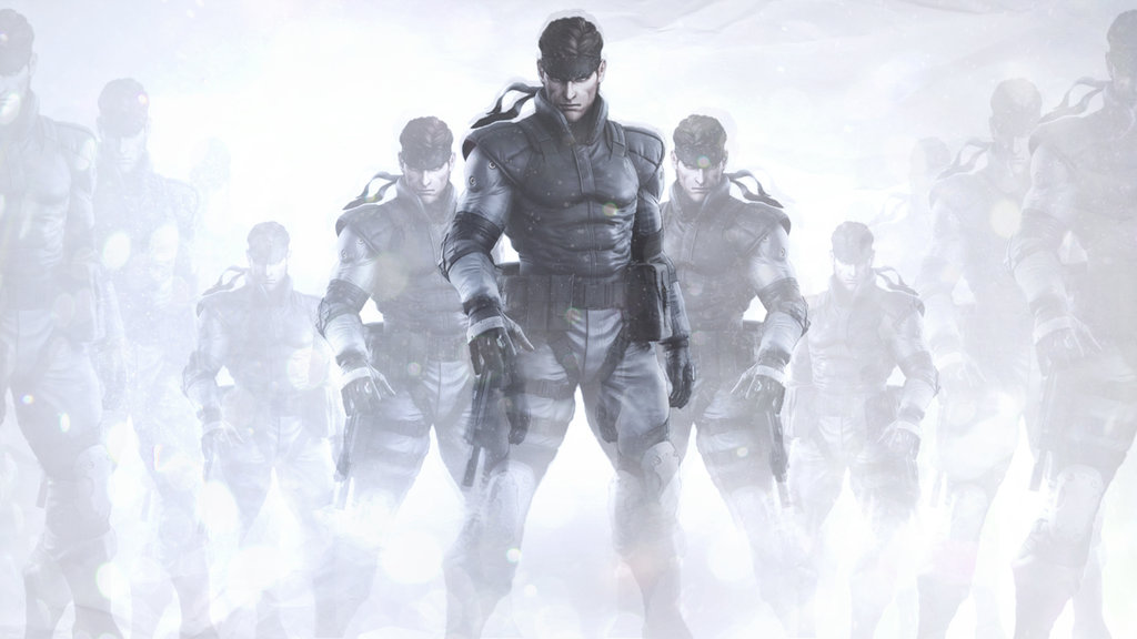 Free Download Metal Gear Solid Solid Snake Wallpaper By