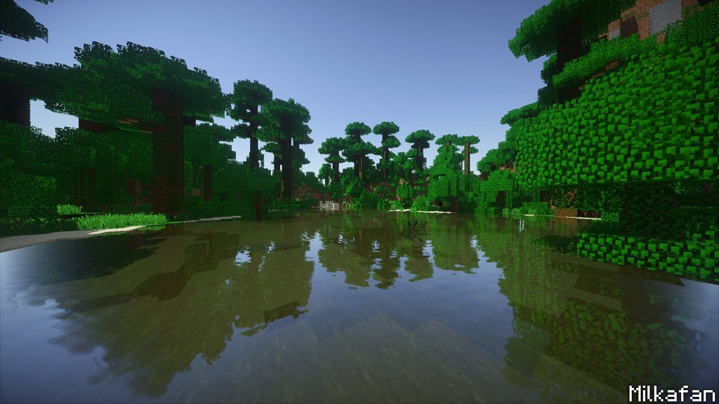 Minecraft Shader Arka Plan