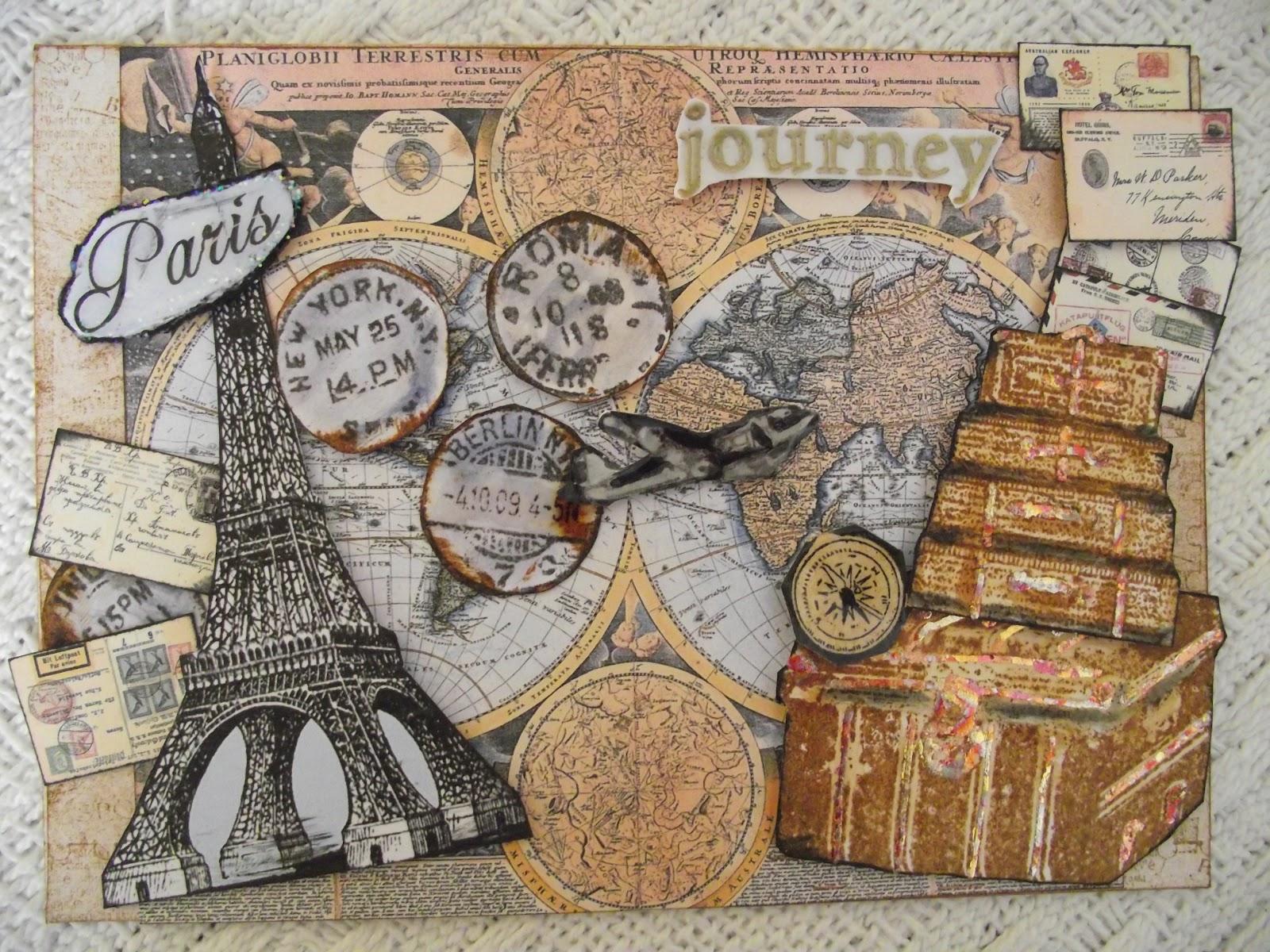 Travel Theme Wallpaper