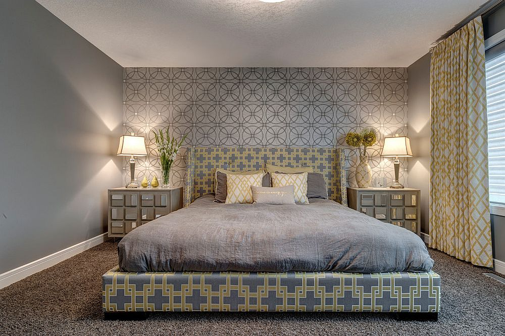 That Inspire You To Try Out Geometric Wallpaper 2014 Interior Design 1000x665