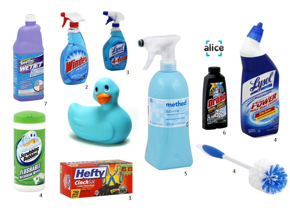 Bathroom Cleaning Materials Make Your Own Bathroom Cleaning