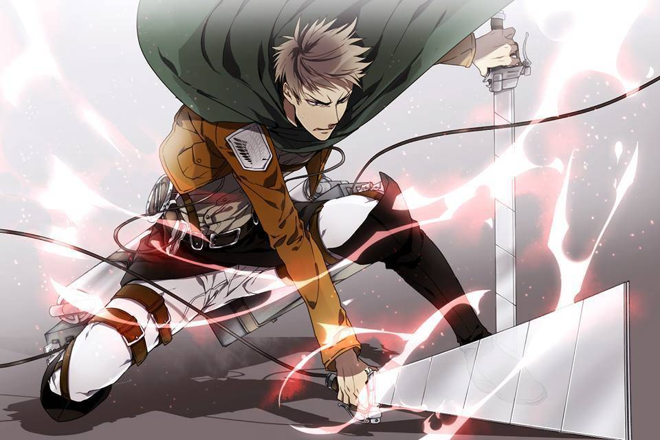 Jean is so cool   Attack on Titan Wallpaper 960x640