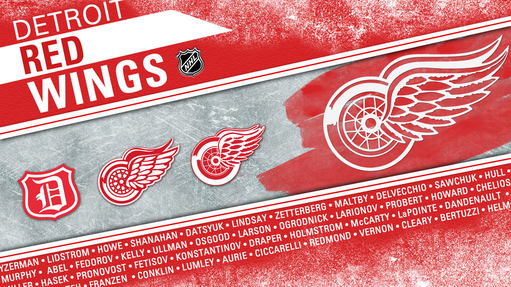 Detroit Red Wings Mobile Wallpaper 1024x576