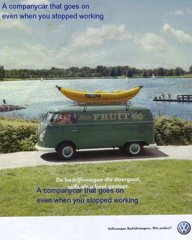 Banana bus YES WE HAVE NO BANANAS HD Wallpaper 640x800
