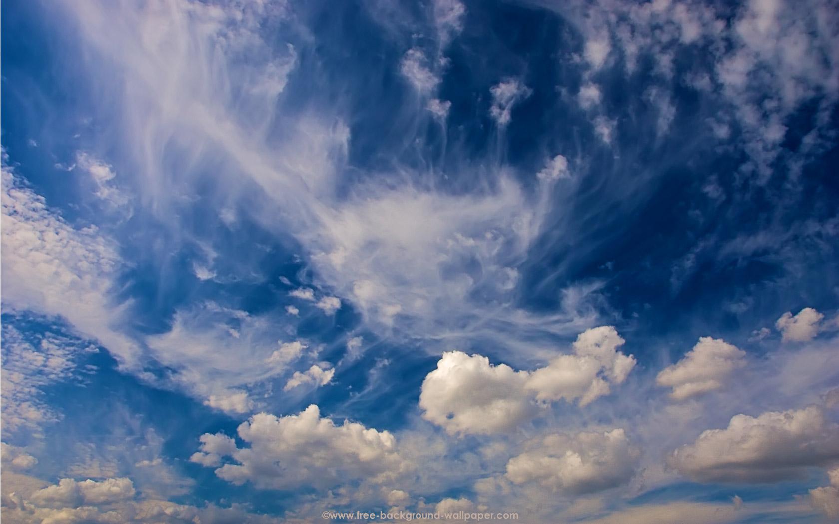 Cirrus Sky Background   Sky Background Wallpaper   1680x1050 pixels 1680x1050