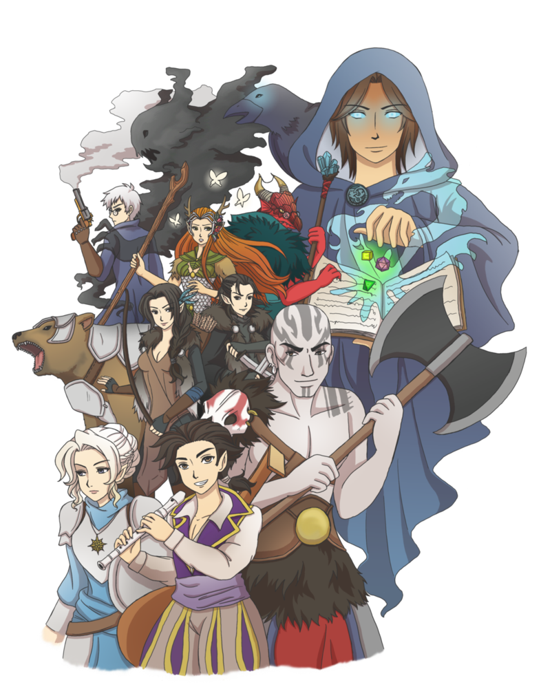 Free Download Critical Role By Silverhyena 786x1017 For