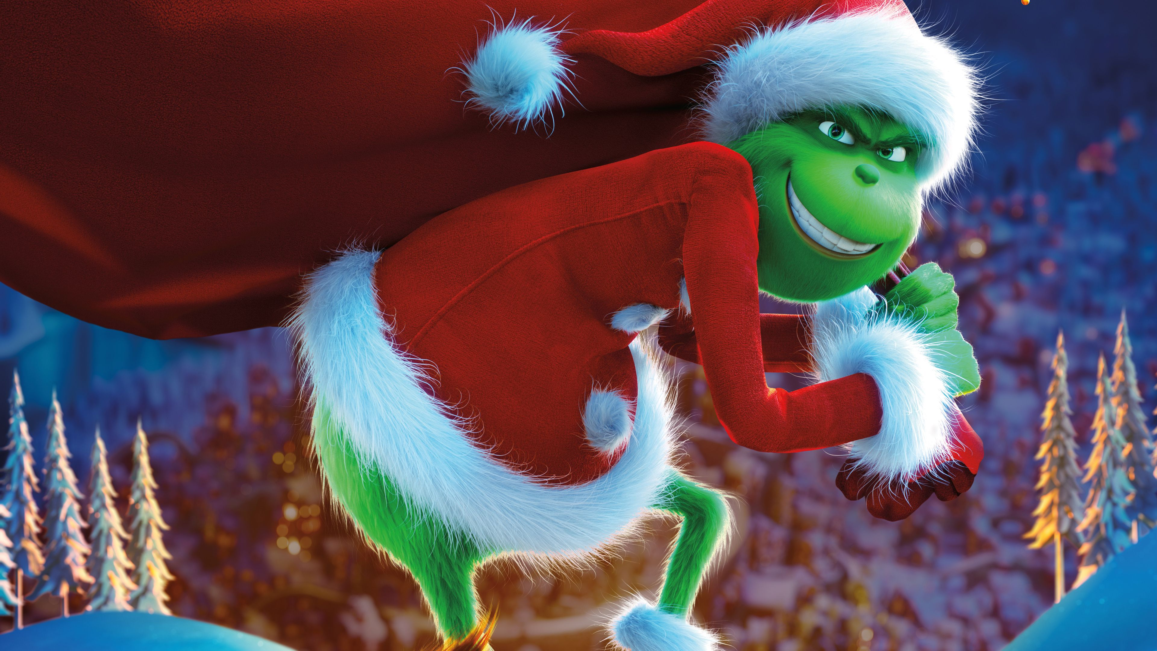 The Grinch 2018 Movie 8k the grinch wallpapers movies wallpapers 3840x2160