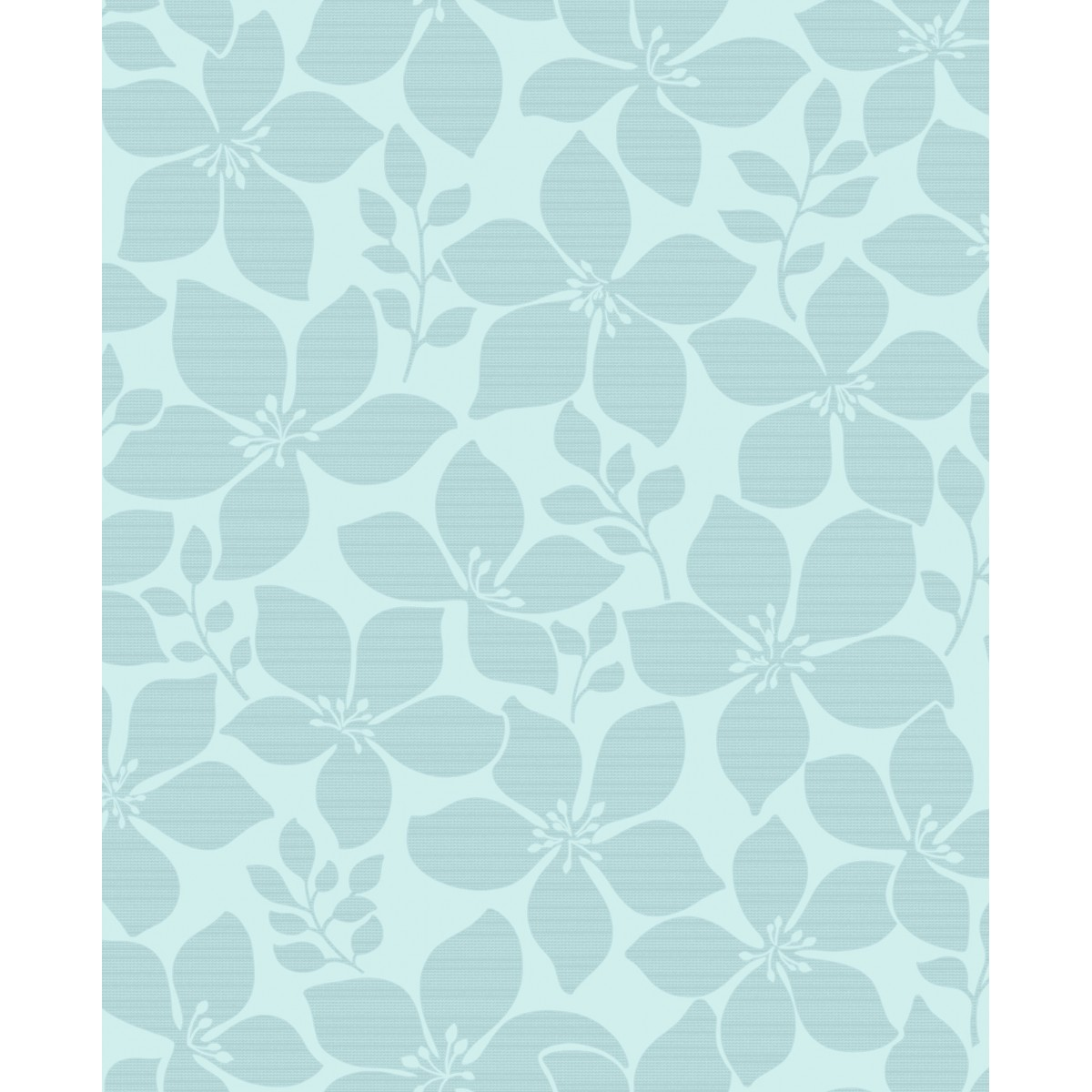 teal flower wallpaper