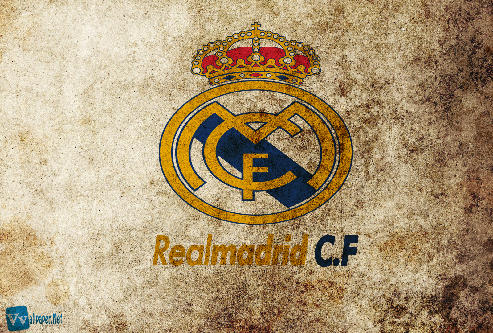 Real Madrid CF Logo HD Desktop Wallpapers Download Wallpapers in 1600x1080