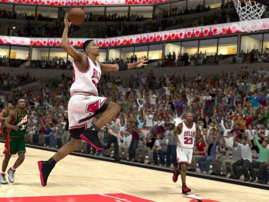 NBA 2K12 Scottie Pippen dunk 1024x768 Wallpapers 1024x768 Wallpapers 1024x768