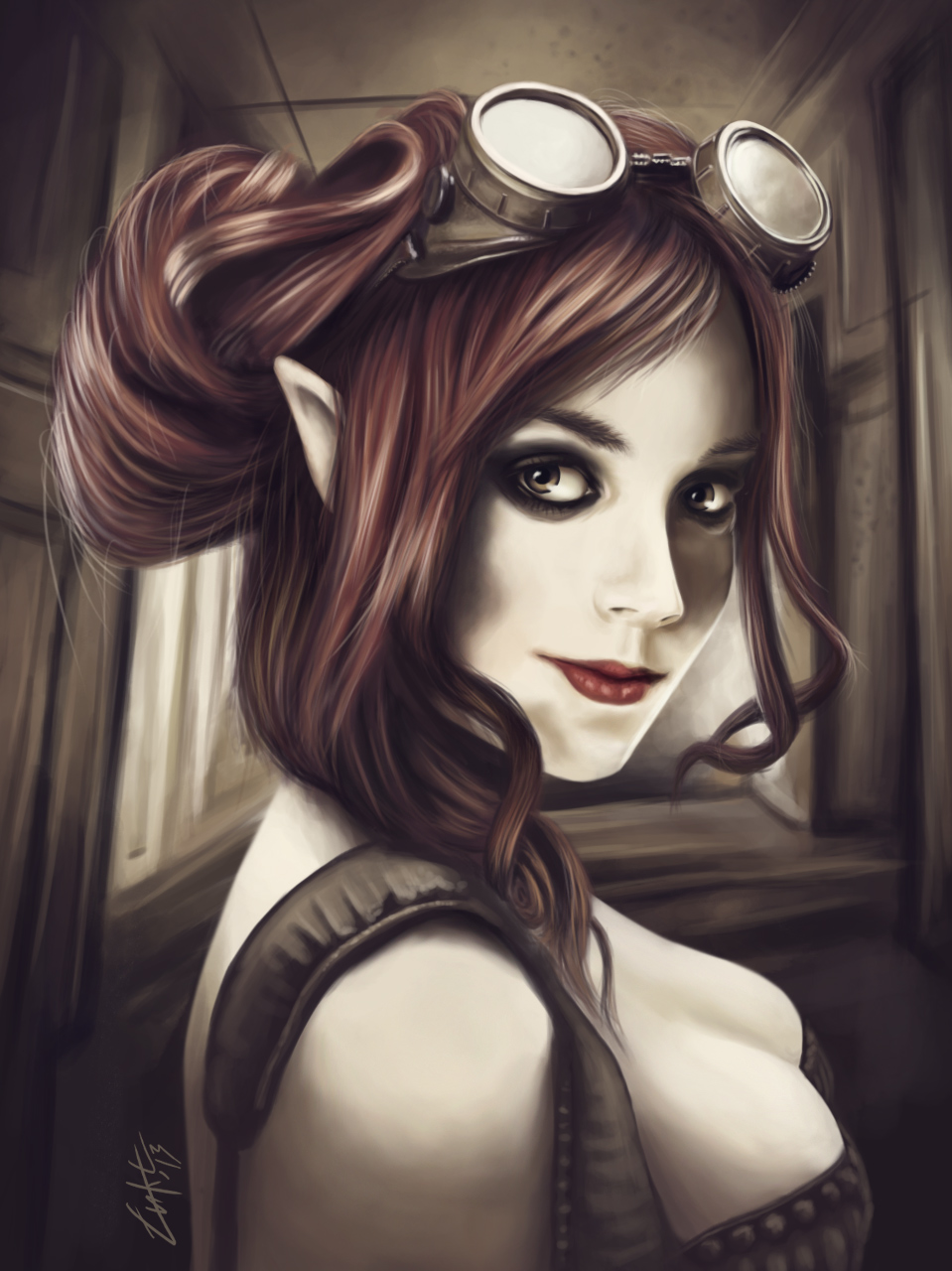 Steampunk girl by Lukecfc 959x1280