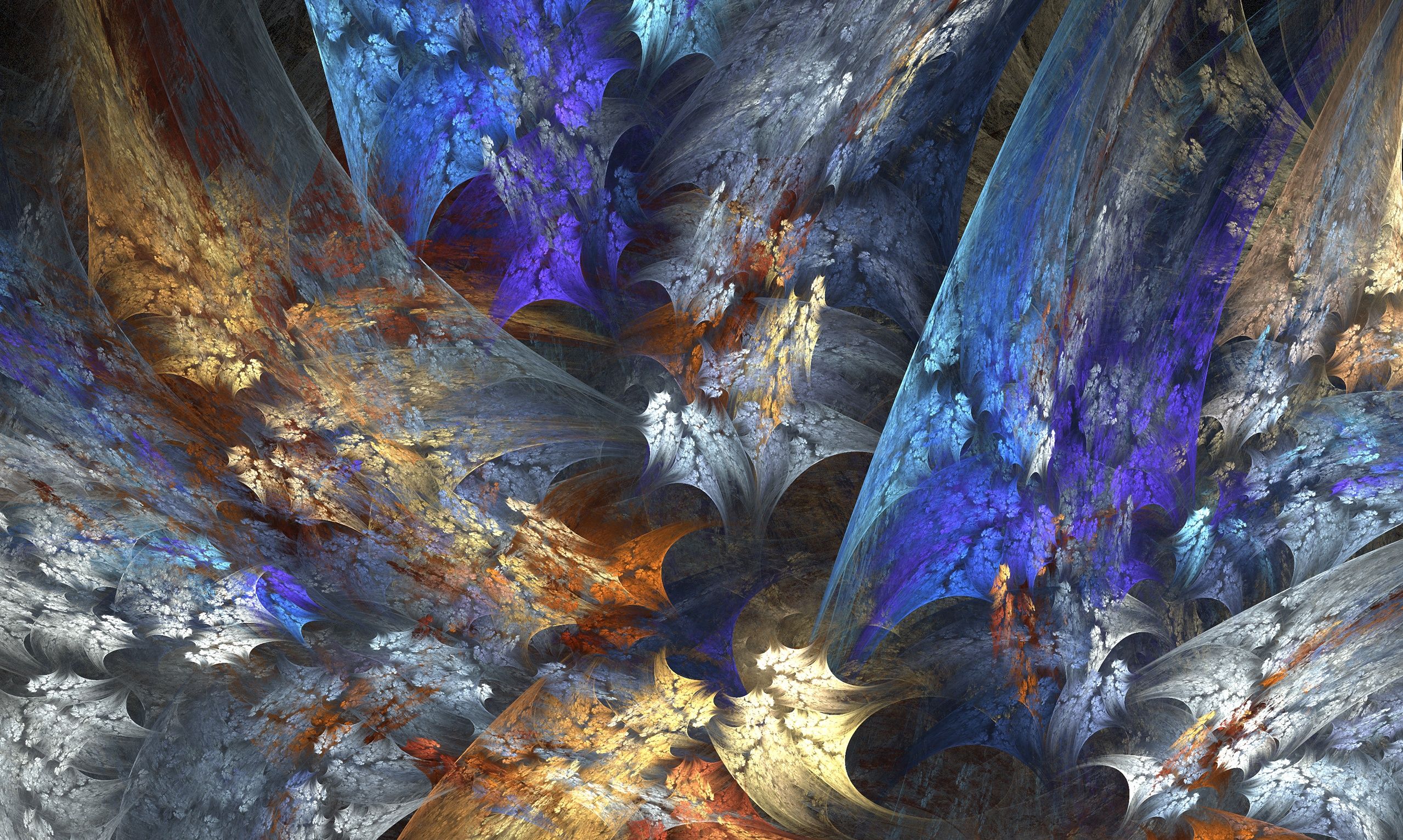 fractal wallpaper background 2558x1533
