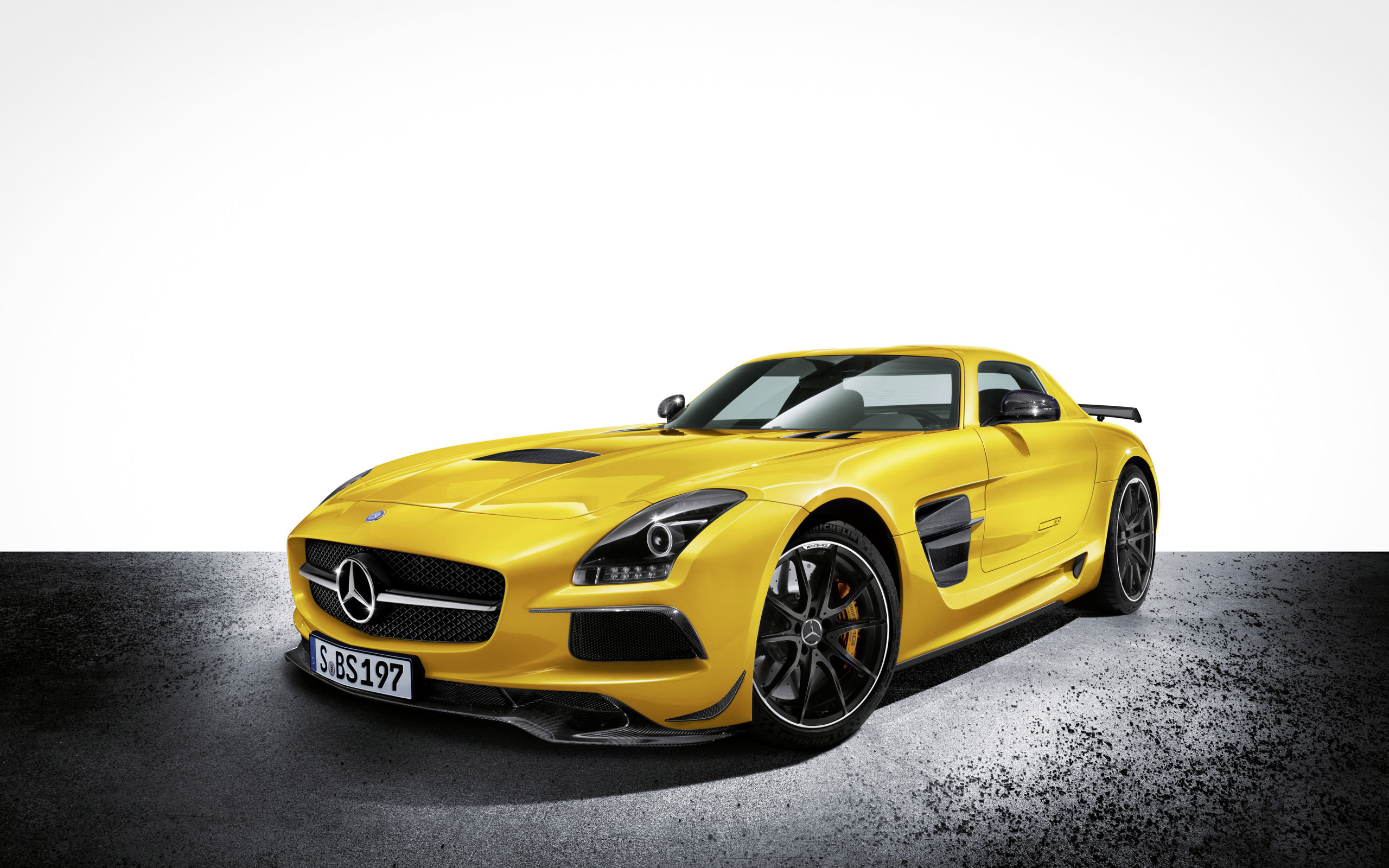 2014 Mercedes Benz SLS AMG Black Series Wallpaper HD Car Wallpapers 2560x1600