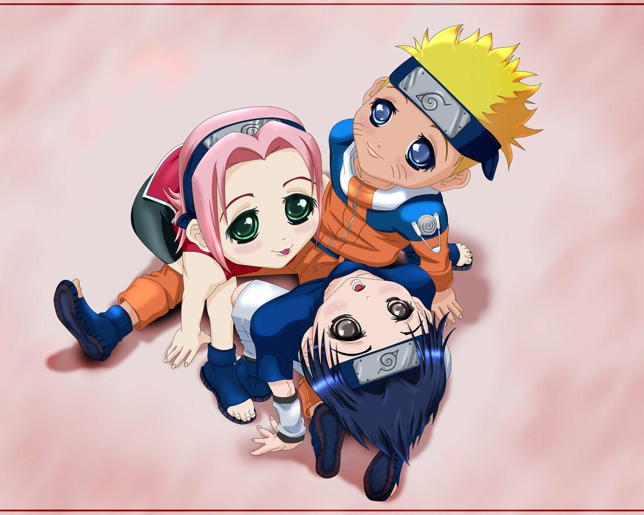 64 Naruto Cute Wallpaper On Wallpapersafari