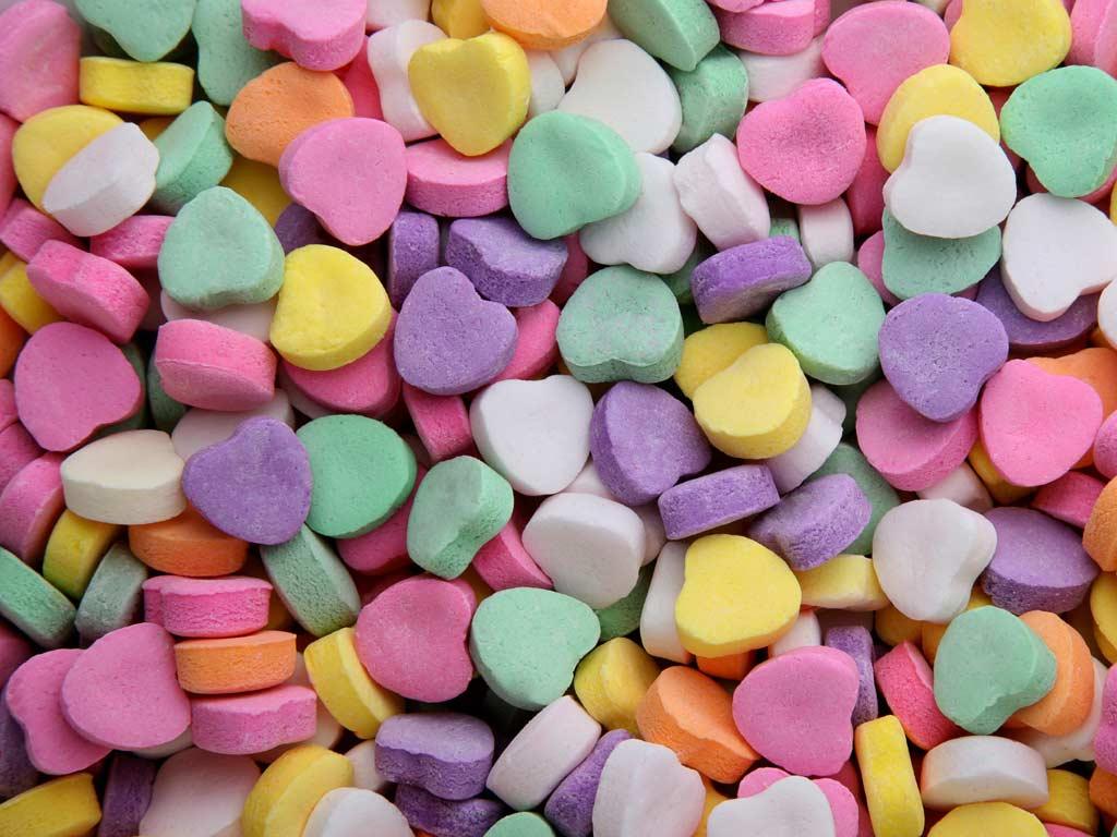 Candy Heart Wallpaper Wallpapersafari