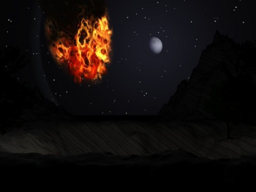 Fire Screensaver Screensavers   Download Space Fiction Fire 500x375