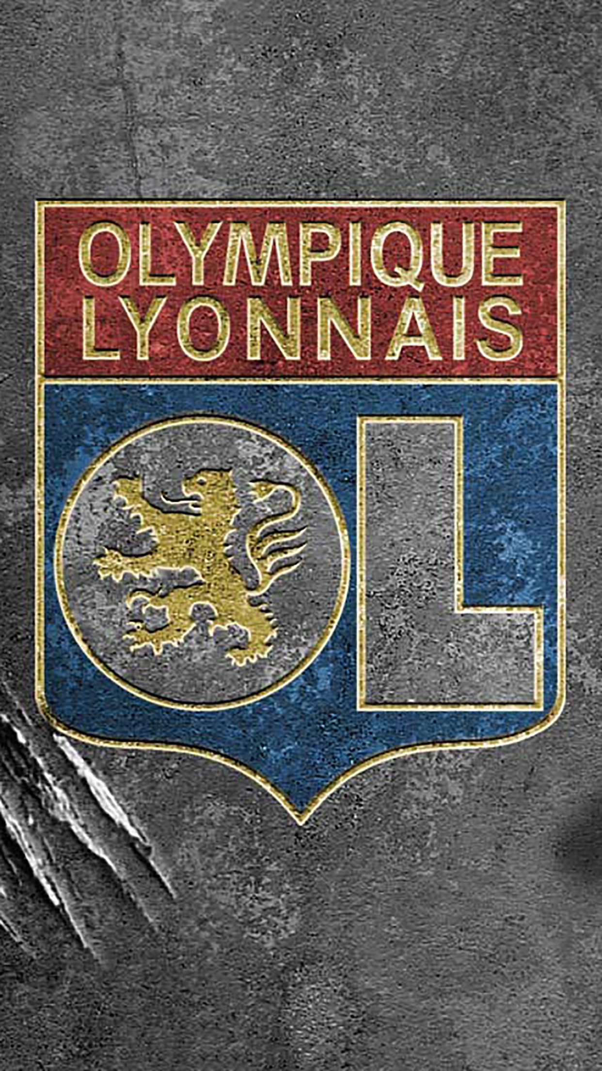 Free Download Olympique Lyonnais Logo 2 Wallpaper For Iphone X 8 7 6 1242x2208 For Your Desktop Mobile Tablet Explore 36 Olympique Lyonnais Wallpapers Olympique Lyonnais Wallpapers Olympique De Marseille Wallpapers