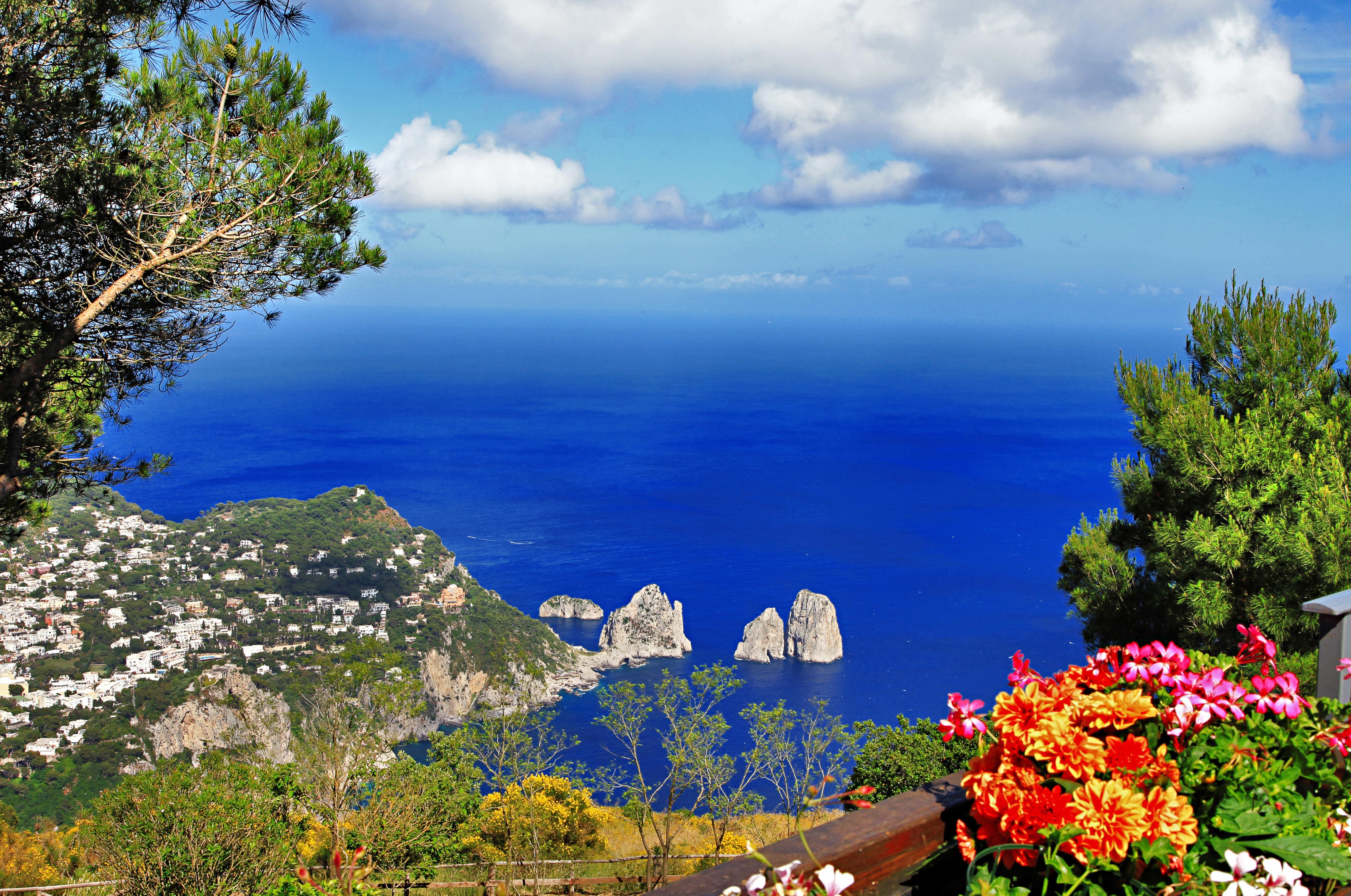 italy anacapri town capri island naples province italy wallpapers 5050x3350