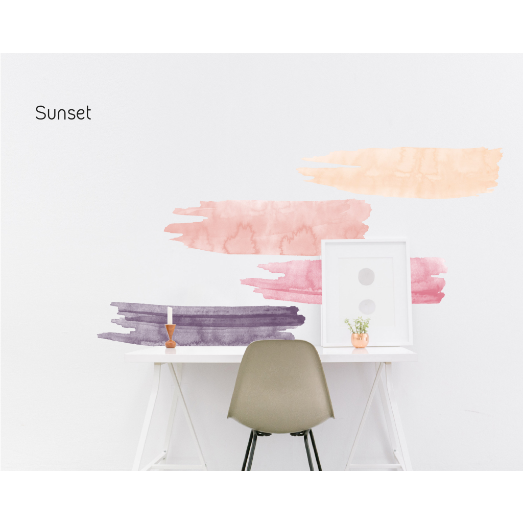 Picture Perfect Decals   Easy Peel and Stick Watercolor Strokes 1024x1024