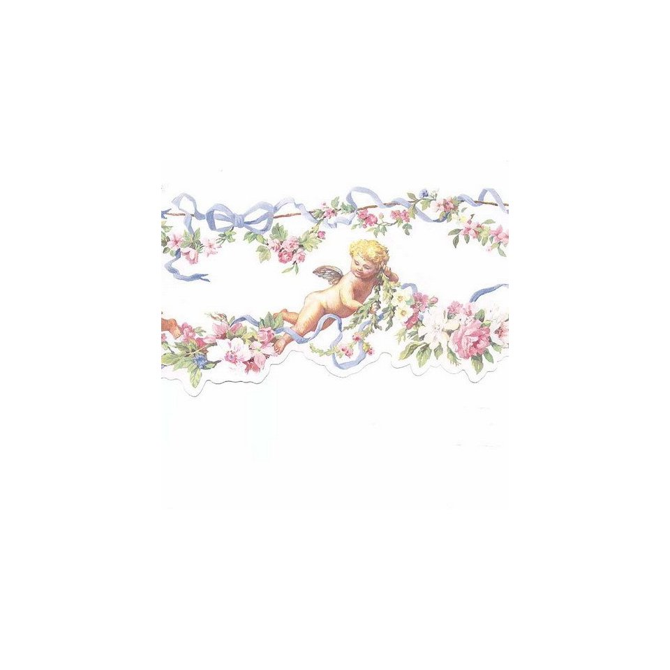 Cherubs White Clouds Wallpaper Border Home Kitchen 960x960