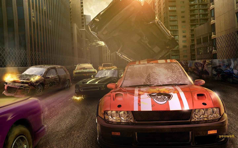 Car Crash Car Crash Wallpaper 1440x900