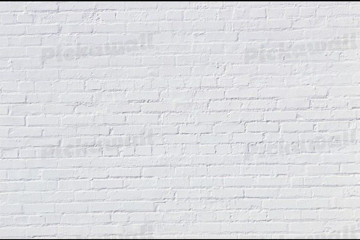 White Brick Wall Wallpaper Removable Wallpaper for sale in Richmond 700x467