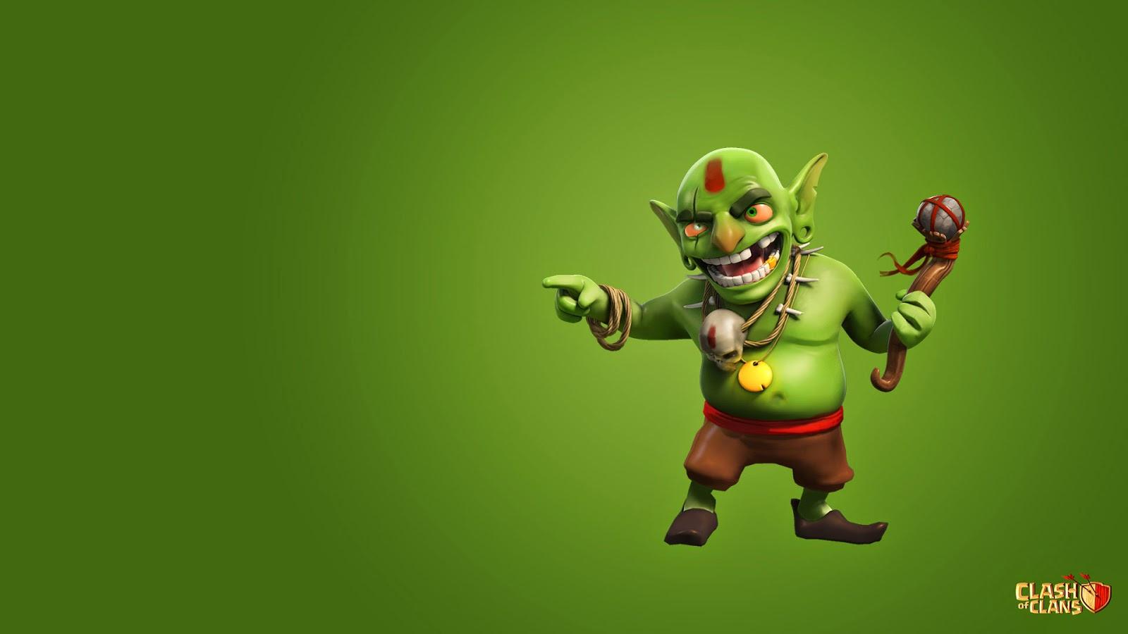 Goblin Clash of Clans HD Wallpaper 1600x900
