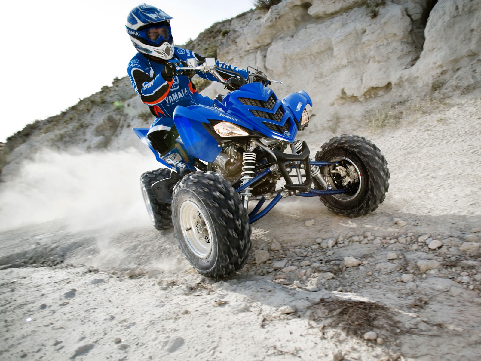 YAMAHA RAPTOR atv quad offroad motorbike bike dirtbike d wallpaper 1600x1200