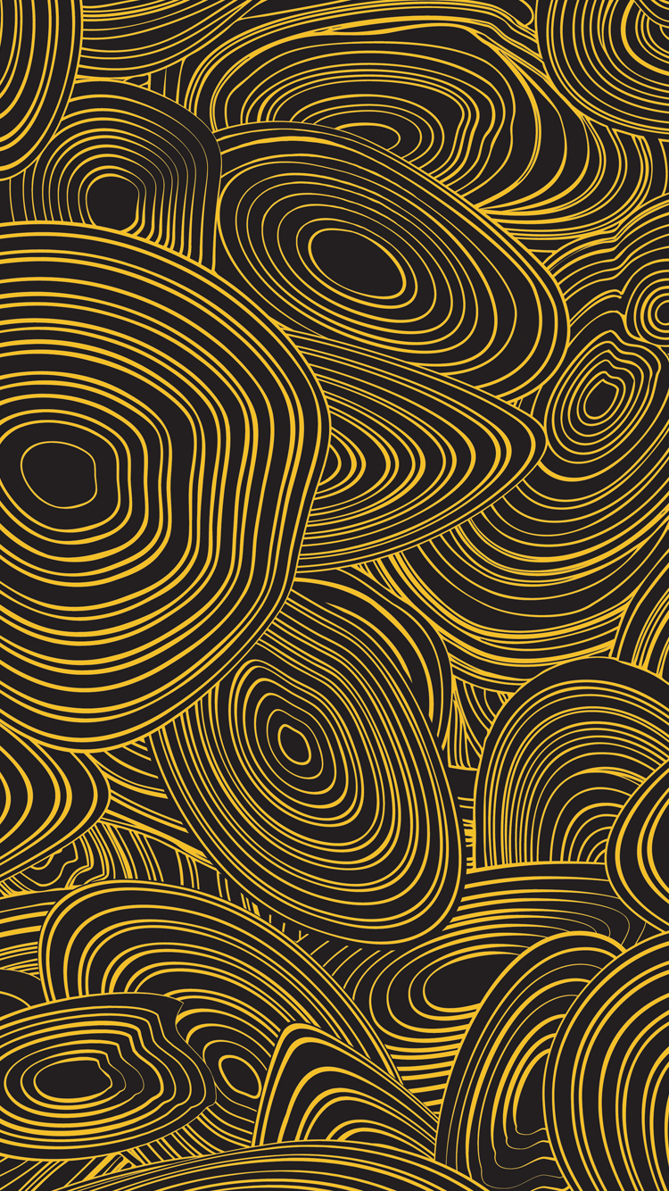 CandyShell Inked Jonathan Adler Wallpapers for iPhone 6s and iPhone 6 750x1334